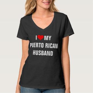 I Love My Puerto Rican Husband T Shirt