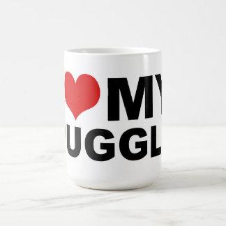 I Love MY Puggle Mug