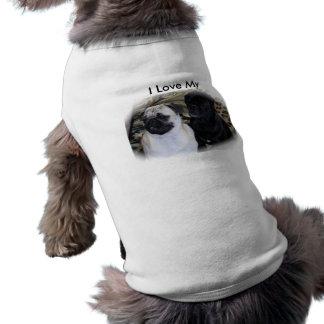 I Love My Pugs Dog Tee Shirt