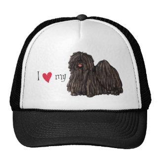 I Love my Puli Cap