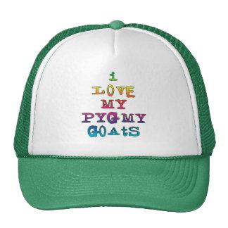 I Love My Pygmy Goats Cap