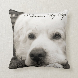 I Love My Pyr Pillow
