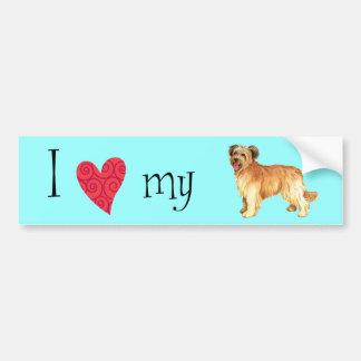 I Love my Pyrenean Shepherd Bumper Sticker