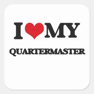 I love my Quartermaster Sticker