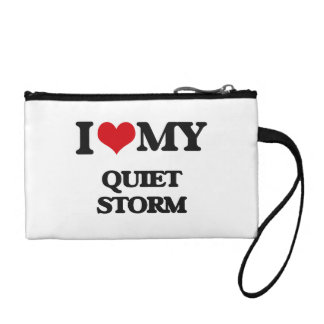 I Love My QUIET STORM Coin Purse