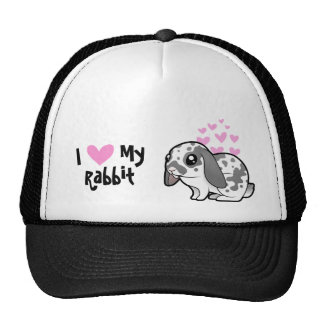 I Love My Rabbit (floppy ear smooth hair) Cap