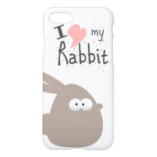 I LOVE MY RABBIT iPhone 8/7 CASE