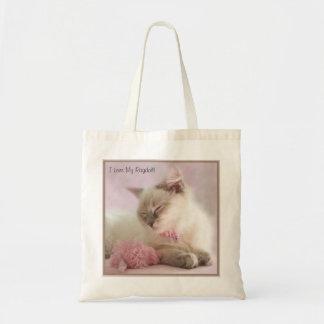 I Love My Ragdoll bag