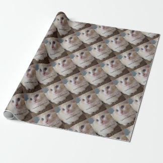 I Love My Ragdoll Cat Wrapping Paper