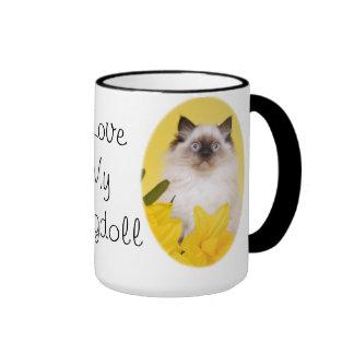 I love my ragdoll mug