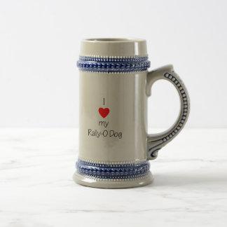 I Love My Rally-O Dog Mug