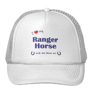 I Love My Ranger Horse (Female Horse) Mesh Hats