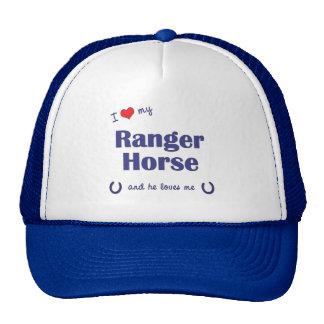 I Love My Ranger Horse (Male Horse) Trucker Hat