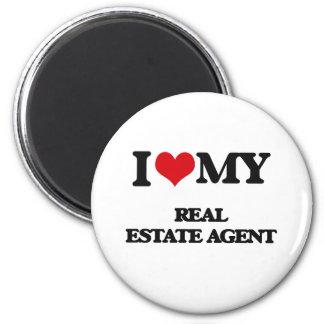 I love my Real Estate Agent Fridge Magnets