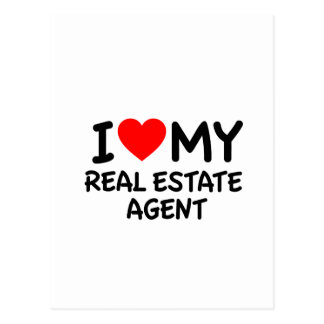 I love my Real Estate Agent Post Card