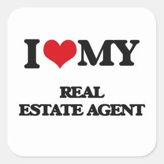 I love my Real Estate Agent Sticker
