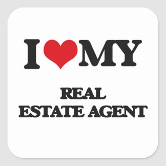 I love my Real Estate Agent Stickers