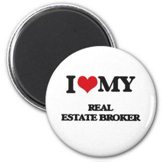 I love my Real Estate Broker Magnet