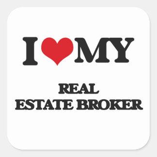 I love my Real Estate Broker Sticker