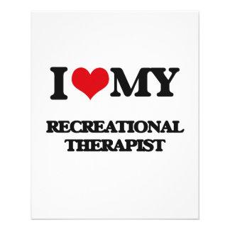 I love my Recreational Therapist Flyer Design