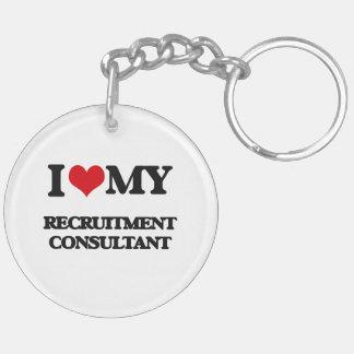 I love my Recruitment Consultant Key Chain