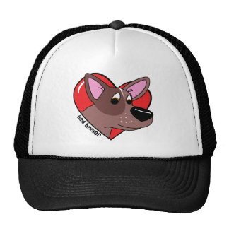I Love my Red Heeler Hat