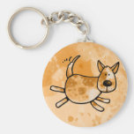 i love my red heeler key chains