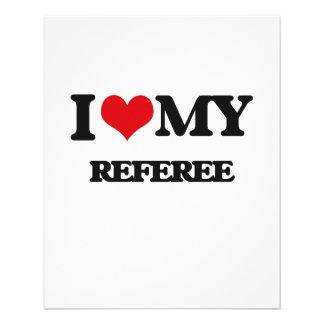 I love my Referee 11.5 Cm X 14 Cm Flyer