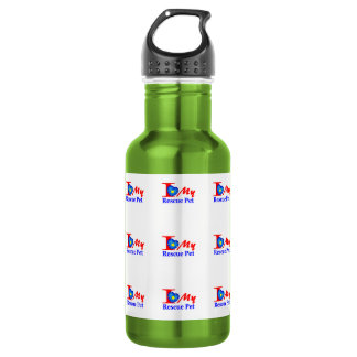 "I Love My Rescue Pet ""Heroes4Rescue"" 532 Ml Water Bottle"
