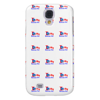 "I Love My Rescue Pet ""Heroes4Rescue"" Samsung Galaxy S4 Cases"