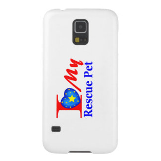 "I Love My Rescue Pet ""Heroes4Rescue"" Galaxy S5 Cover"