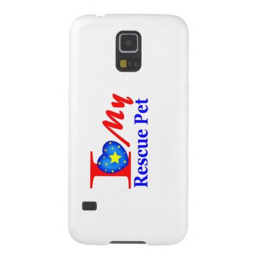 "I Love My Rescue Pet ""Heroes4Rescue"" Samsung Galaxy Nexus Cover"