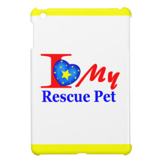I Love My Rescue Pet Heroes4Rescue iPad Mini Cases