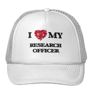 I love my Research Officer Cap
