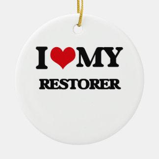 I love my Restorer Christmas Ornament