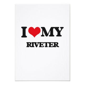 I love my Riveter Personalized Invitation