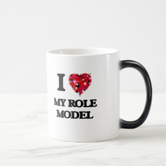 I Love My Role Model Morphing Mug