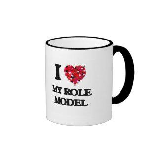 I Love My Role Model Ringer Mug