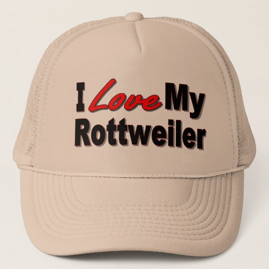 I Love My Rottweiler Dog Gifts and Apparel