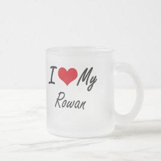 I love my Rowan Frosted Glass Mug