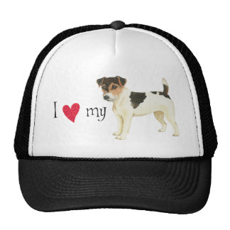 I Love my Russell Terrier Cap