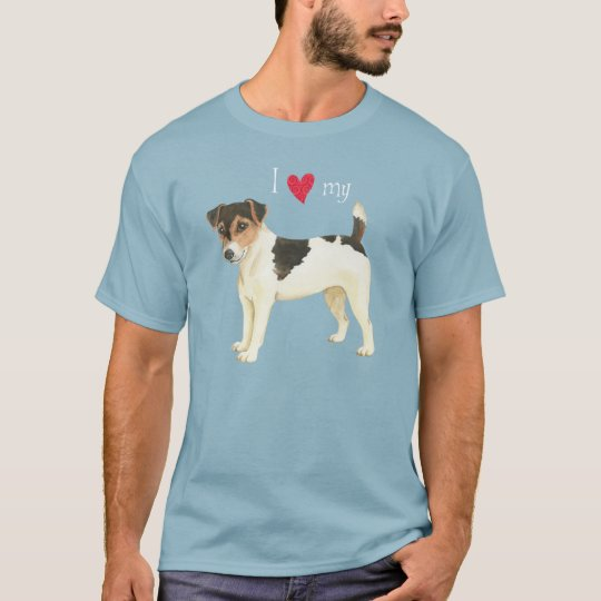 I Love my Russell Terrier T-Shirt