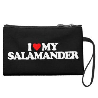 I LOVE MY SALAMANDER WRISTLETS