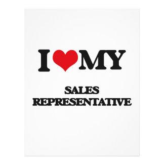 I love my Sales Representative Flyer