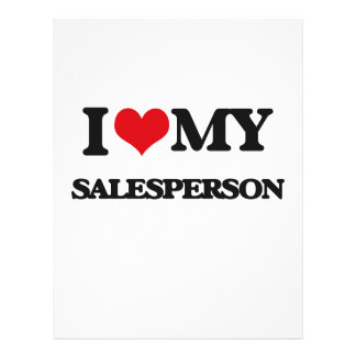I love my Salesperson Flyer Design
