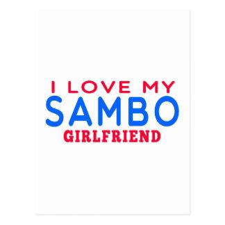 I Love My Sambo Girlfriend Post Cards