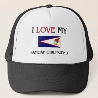 I Love My Samoan Girlfriend Trucker Hat