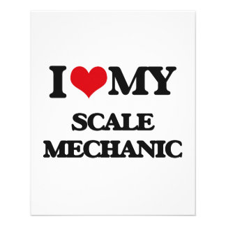 I love my Scale Mechanic Personalized Flyer