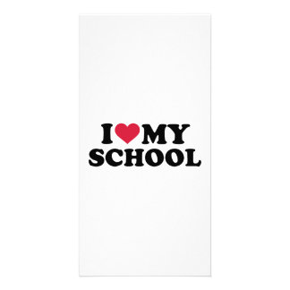 I love my School Photo Cards