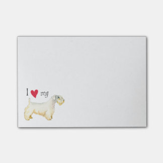 I Love my Sealyham Terrier Post-it Notes
